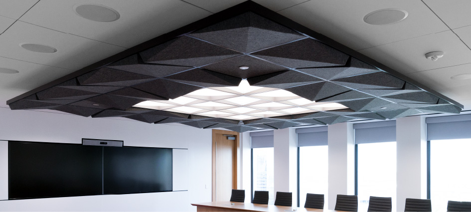 Tetria heather black conference room