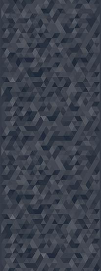 Duet Geotic Pattern in Overcast B63 with Velum Finish Full Panel